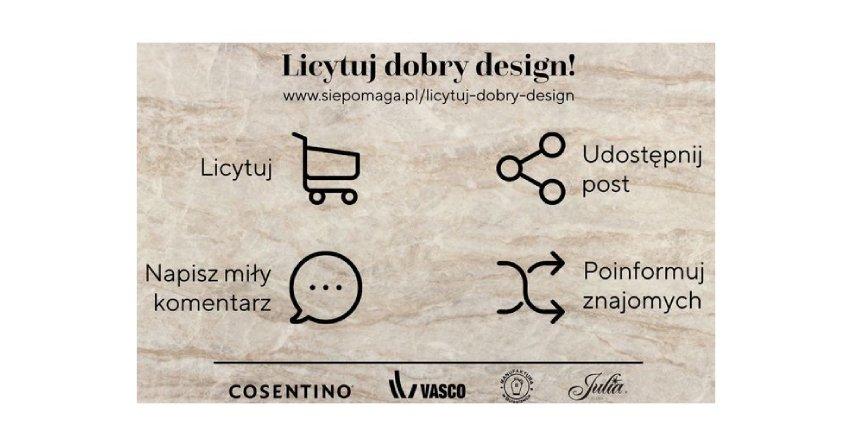 Licytuj dobry design i pomagaj polskiej służbie zdrowia Fot. OKK!
