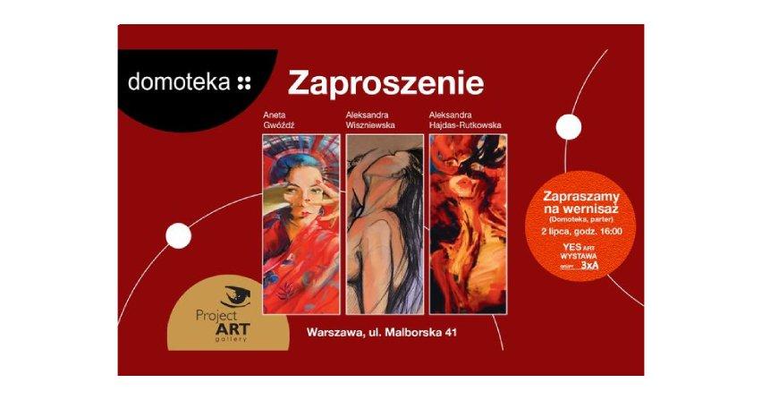 Wystawa malarstwa w Domotece Fot. Domoteka