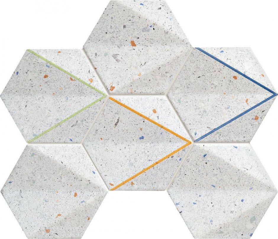 dekor dots grey tubadzin