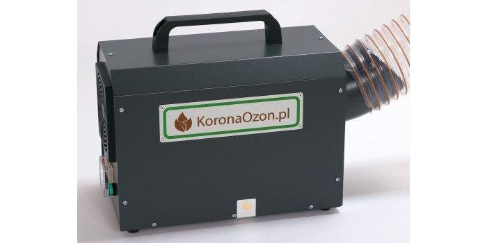 Generator ozonu o wydajności 20 g/h produkowany przez firmę Koronaozon