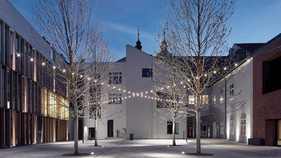 the courtyard non residential slowacja
