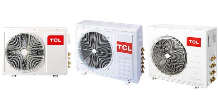 Typoszereg agregatów zewnętrznych marki TCL, fot. Lindab